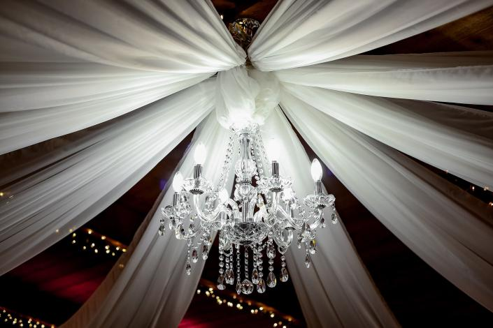 Chandelier in Banquet Hall